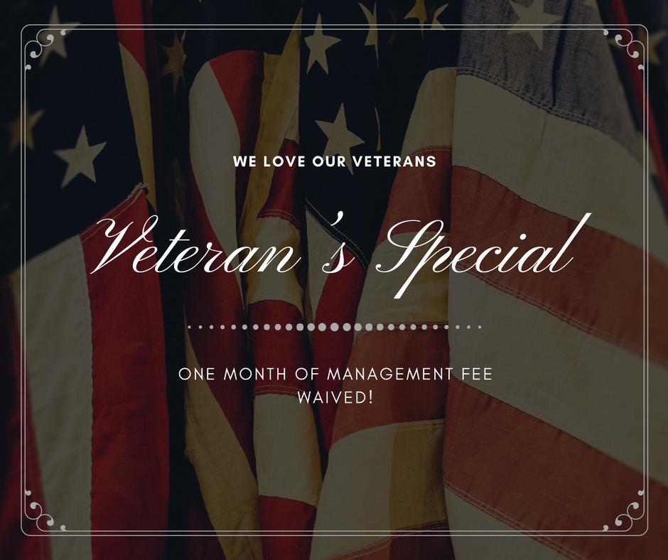 Veteran's Special